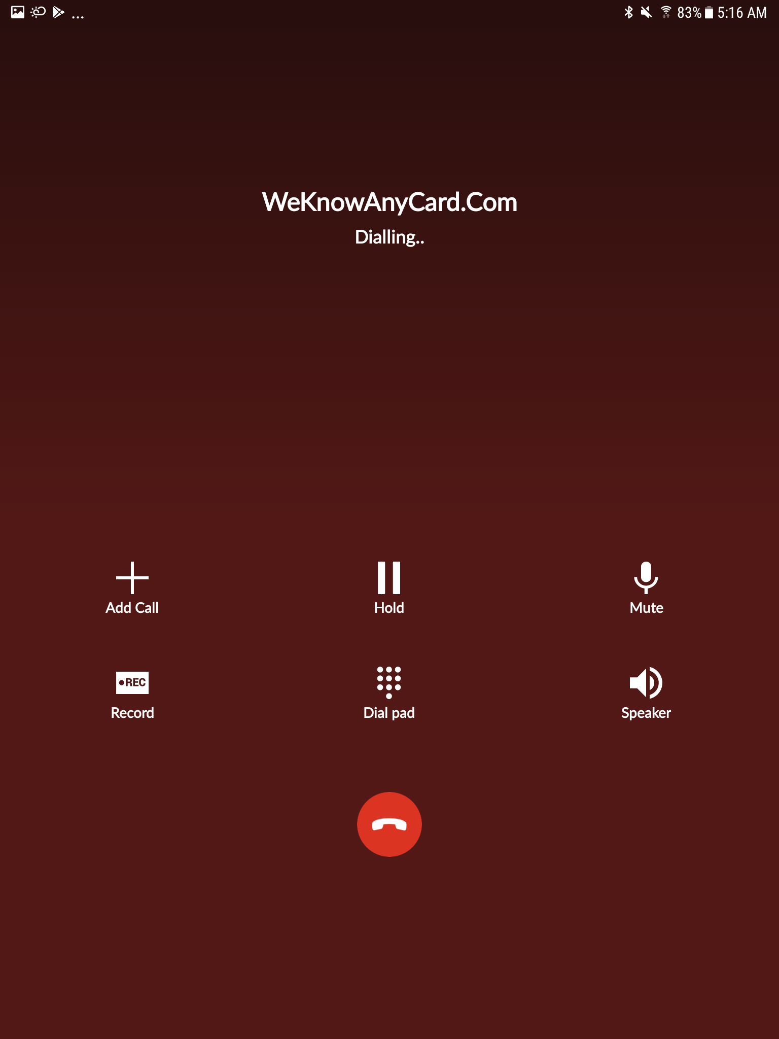 Call Screen | We Know Any Card | Android App Review | GiveMeApps