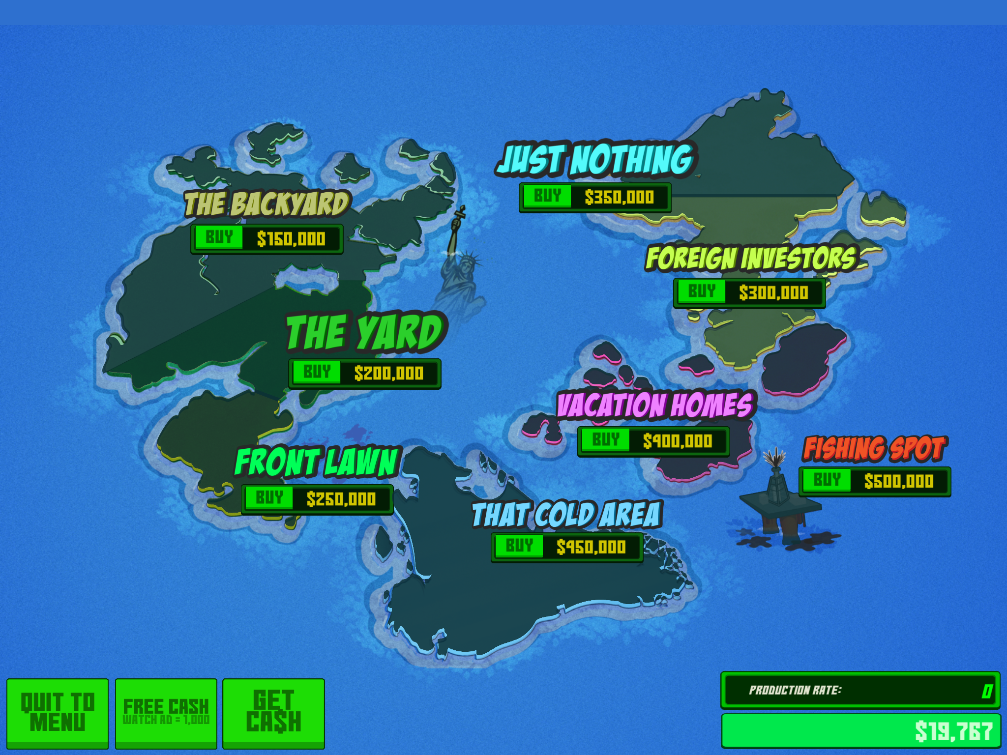 Conquest Map | Party Wars | iPhone/iPad | GiveMeApps