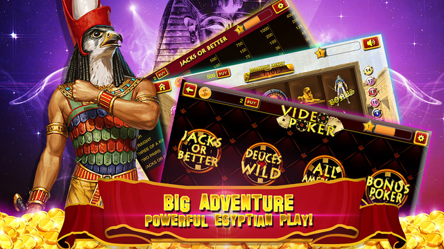 iPhone/iPad App Review: Pharoah's Golden Deluxe | GiveMeApps