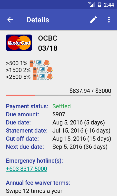 Android App Review: Manage Credit Card Easily | GiveMeApps